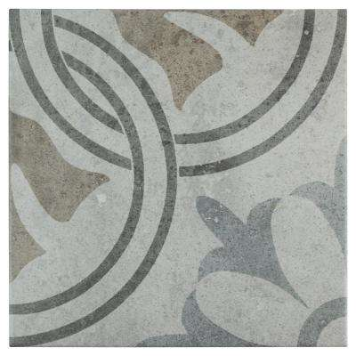 Llanes Perla Valencia Encaustic 13-1/8 in. x 13-1/8 in. Ceramic Floor and Wall Tile (10.76 sq. ft. / case)