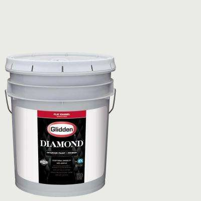 5 gal. #HDGG43U Extreme White Flat Interior Paint with Primer
