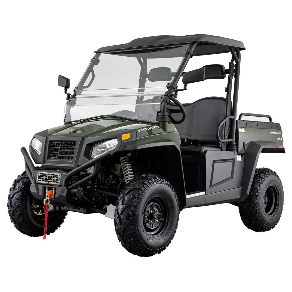 Vector 500 4WD 500cc Utility Vehicle-HDVector500GRE - The