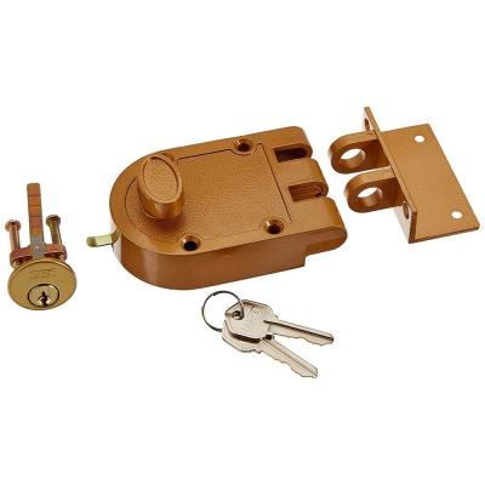 Interlocking Jimmy Proof Style Single Cylinder Deadbolt