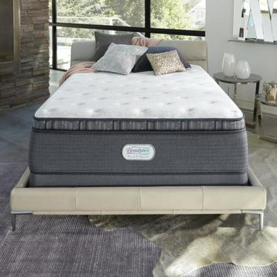 Platinum Spring Grove 15 in. King Luxury Firm Pillow Top Mattress