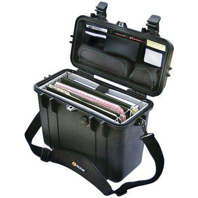Case with Padded Office Divider Set and Lid Organizer