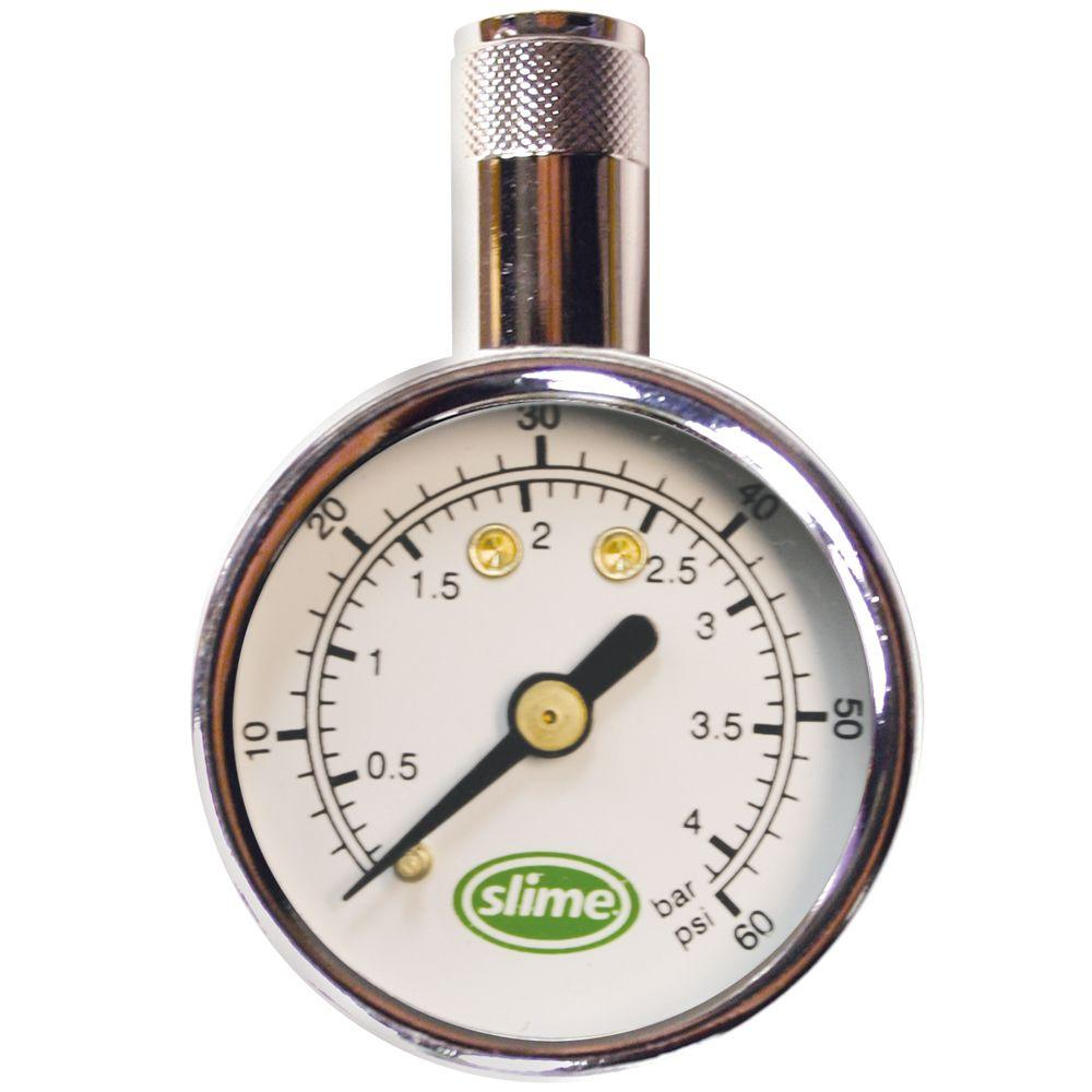 null 5-60 psi Mini Magnet Dial Gauge