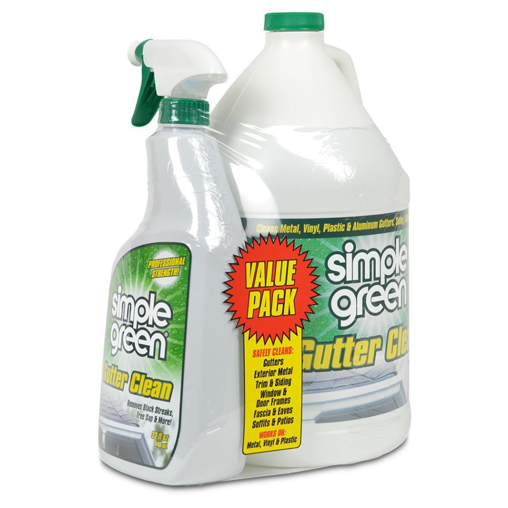 1 Gal. Gutter Clean with 32 oz. Spray Bottle