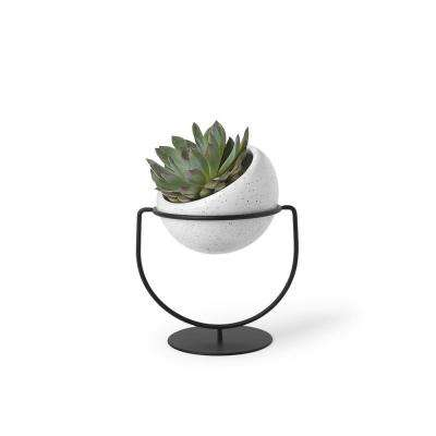 Nesta Ceramic Planter White Speckle