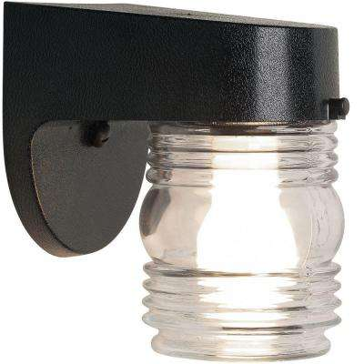 Black Coastal Jelly Jar