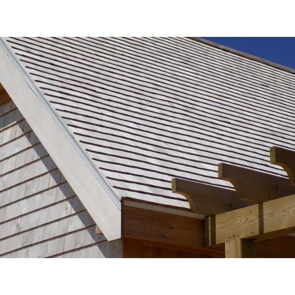 Unbranded 16 In Natural Eastern White Cedar Wood Grade C 2nd Clear Architectural Shingles 25 Sq Ft Per Bundle 234075 The Home Depot