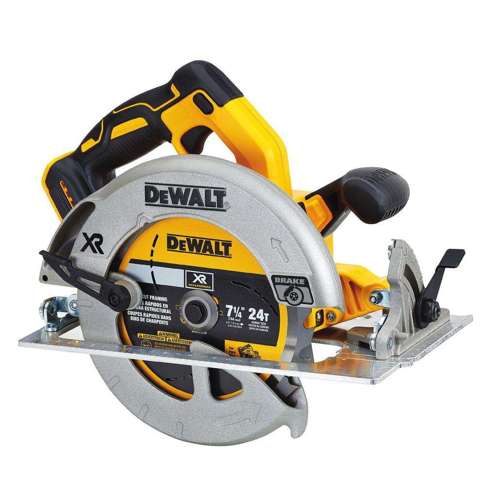 20-Volt MAX XR Lithium-Ion Cordless Brushless 7-1/4 in. Circular Saw with
