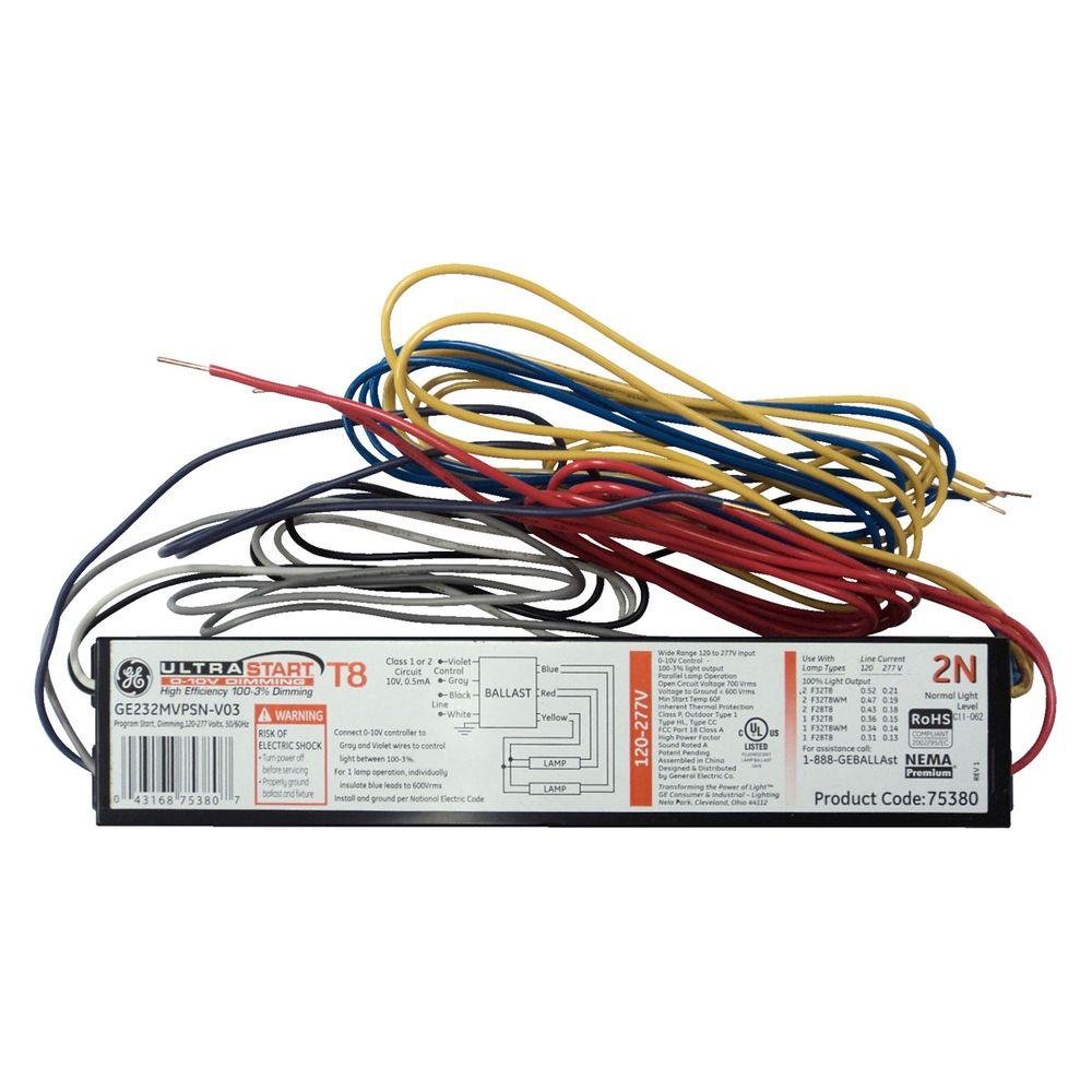 Fluorescent Light Dim: T8 Fluorescent Light Ballast Home Depot