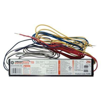 120 to 277-Volt Electronic Dimming Ballast for 2 or 1-Lamp T8 Fixture (Case of 10)