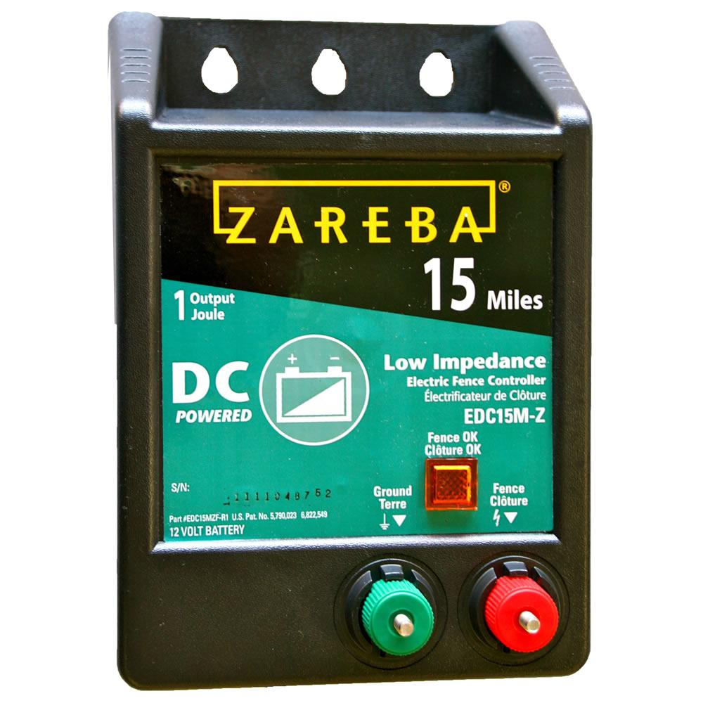 Zareba 15-Mile Battery Operated Low Impedance Fence Charger