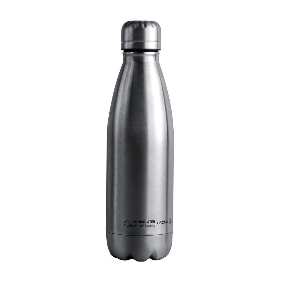 17 oz. Silver Central Park Travel Bottle