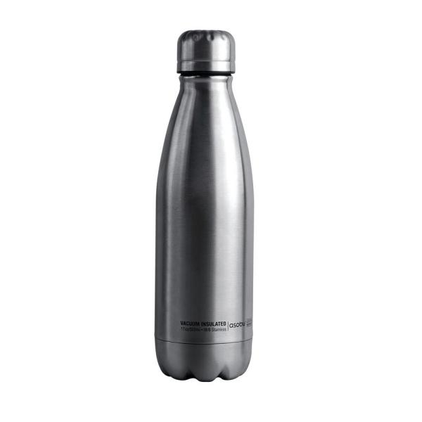 ASOBU 17 oz. Silver Central Park Travel Bottle SBV17 SILVER