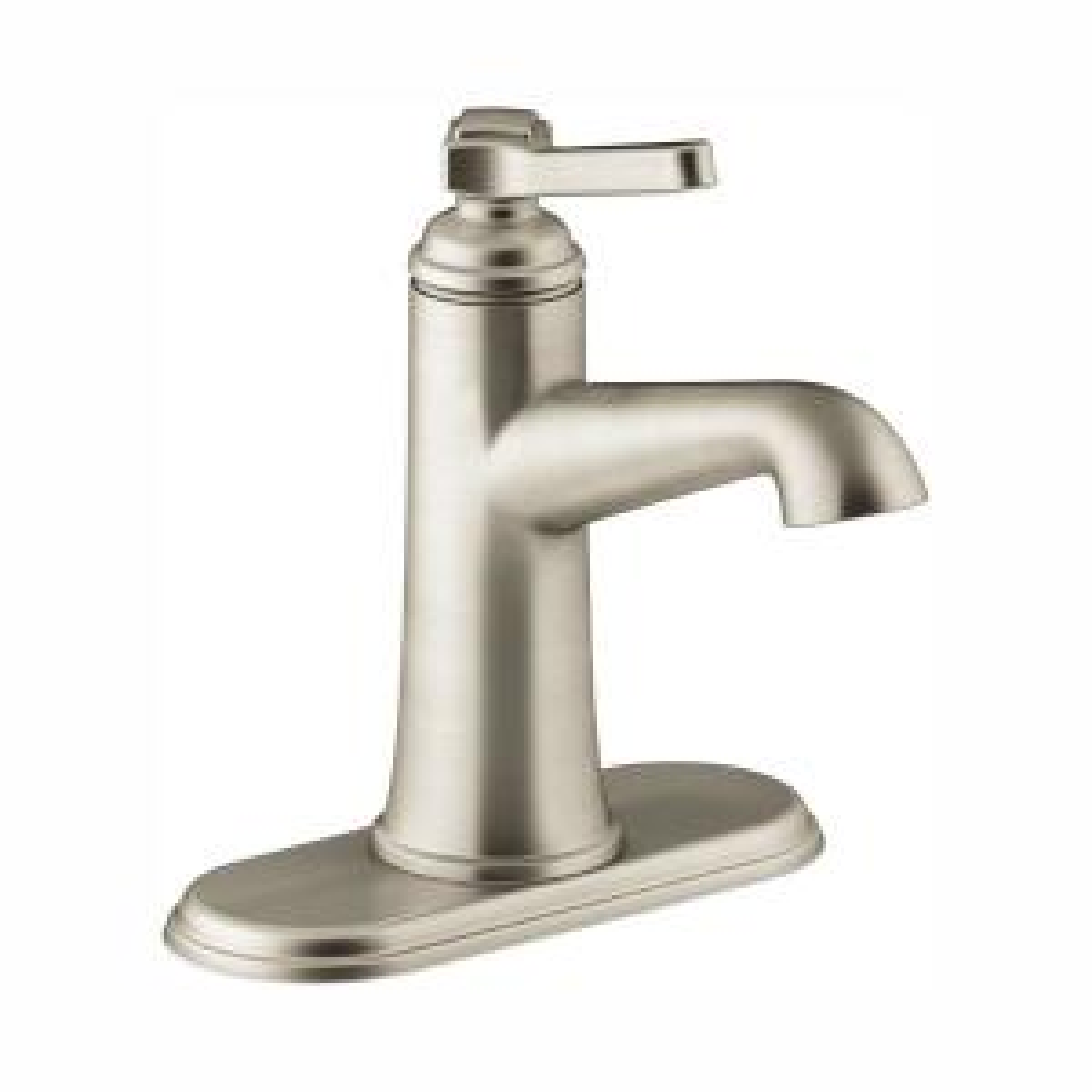 Georgeson Single Hole Single Handle Water-Saving Bathroom Faucet in Vibrant Brushed Nickel