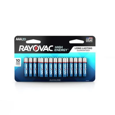 Alkaline AAA Size Dual Value Pack Battery (20-Pack)