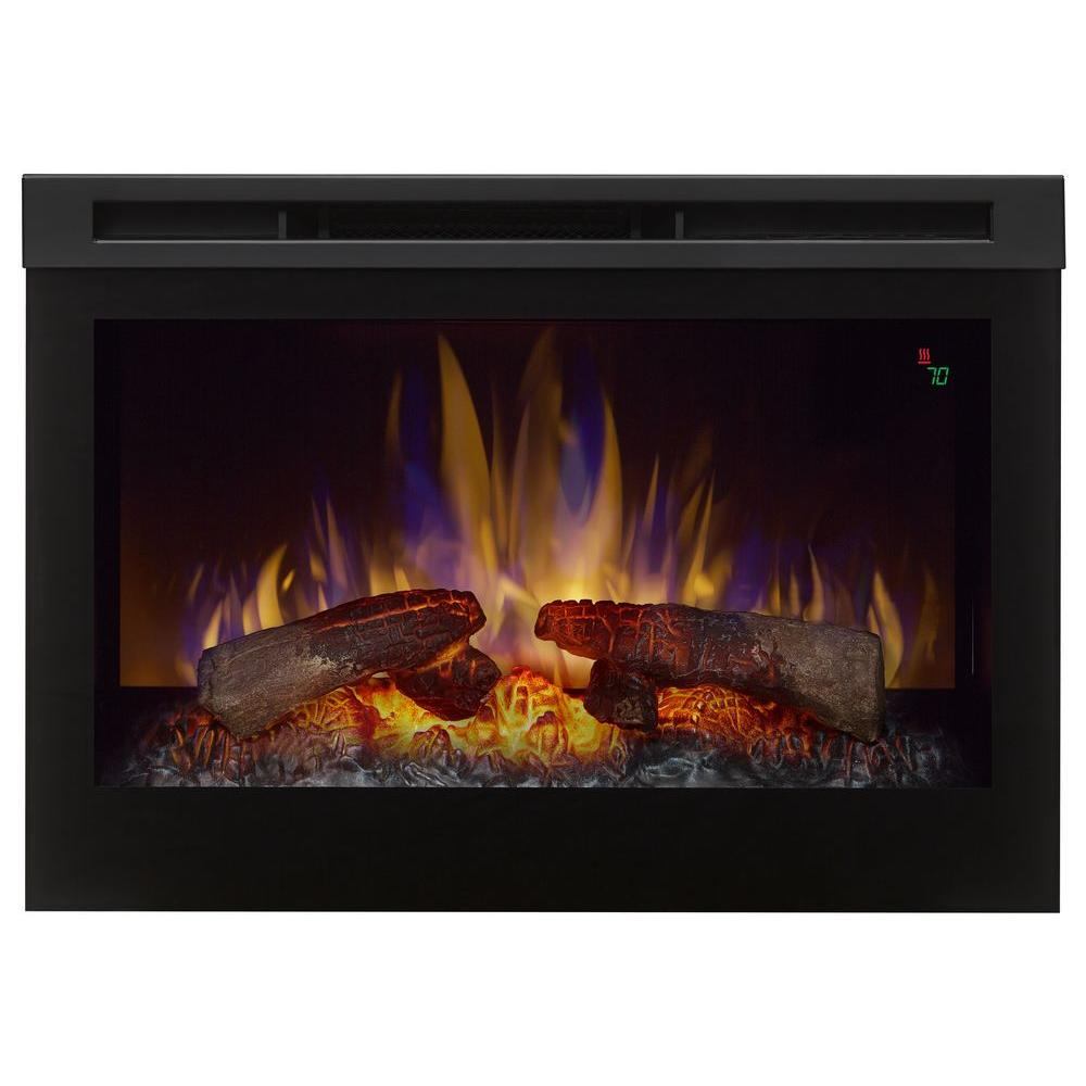 25 In Electric Firebox Fireplace Insert