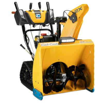 2X 26 in. 272 cc Track Drive Two-Stage Electric Start Gas Snow Blower with Steel Chute, Power Steering and Heated Grips