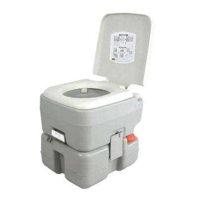 5.3 Gal. Portable Outdoor and Travel Toilet