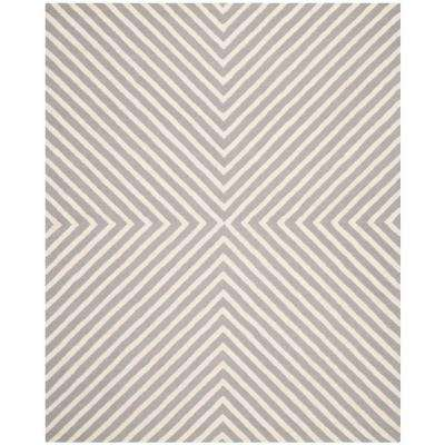 Cambridge Silver/Ivory 9 ft. x 12 ft. Area Rug