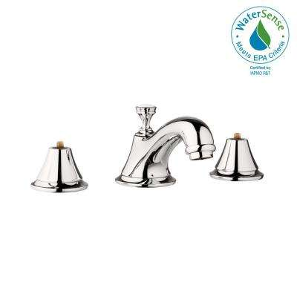 Seabury 8 in. Widespread 2-Handle 1.2 GPM Bathroom Faucet in Polished Nickel Infinity