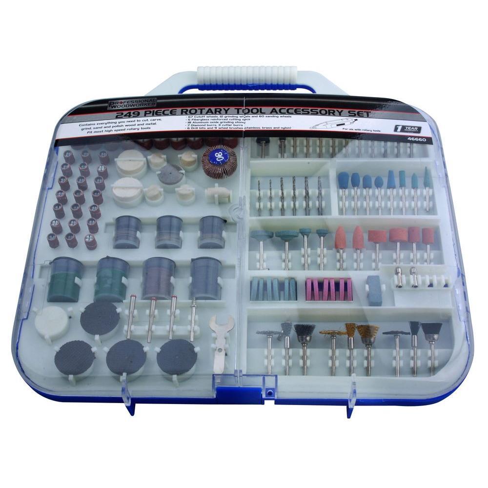 Rotary Tool Accessory Set (249-Piece)