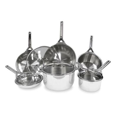 Tigourmet 10-Piece Induction Cookware Set