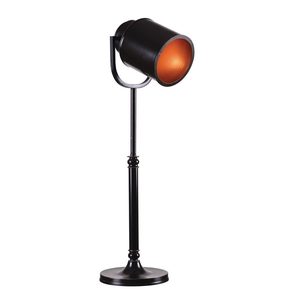 Allen 30 in. Bronze Table Lamp