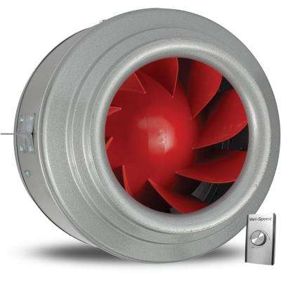 Powerfan V-Series 16 in. 4515 CFM Inline Fan with Vari-Speed Kit