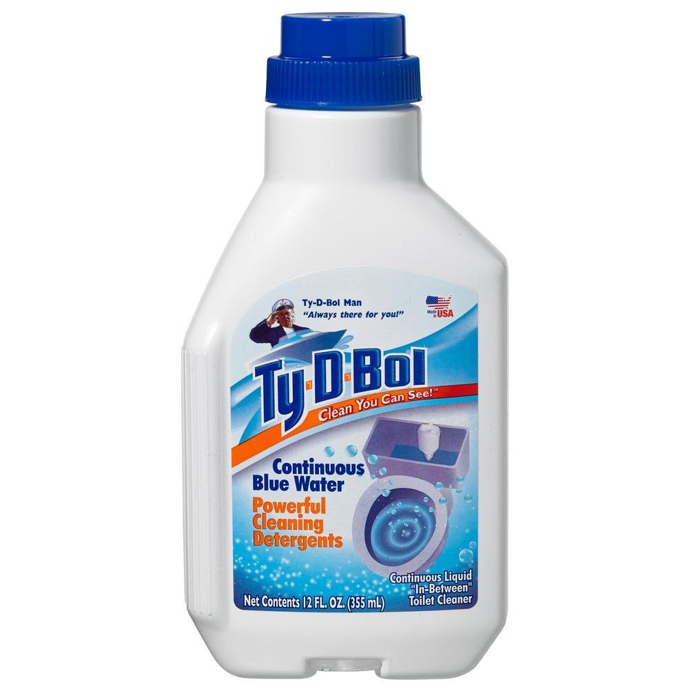 12 fl. oz. Toilet Bowl Cleaner In-Tank Liquid (6-Pack)
