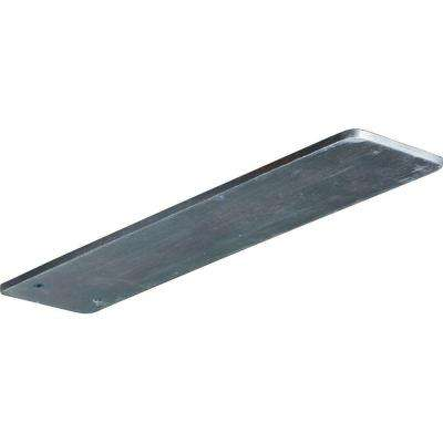 12 in. x 3 in. x 1/4 in. Steel Unfinished Metal Logan Bracket