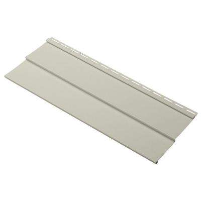 Evolutions Double 4 in. x 24 in. Vinyl Siding Sample in Olive