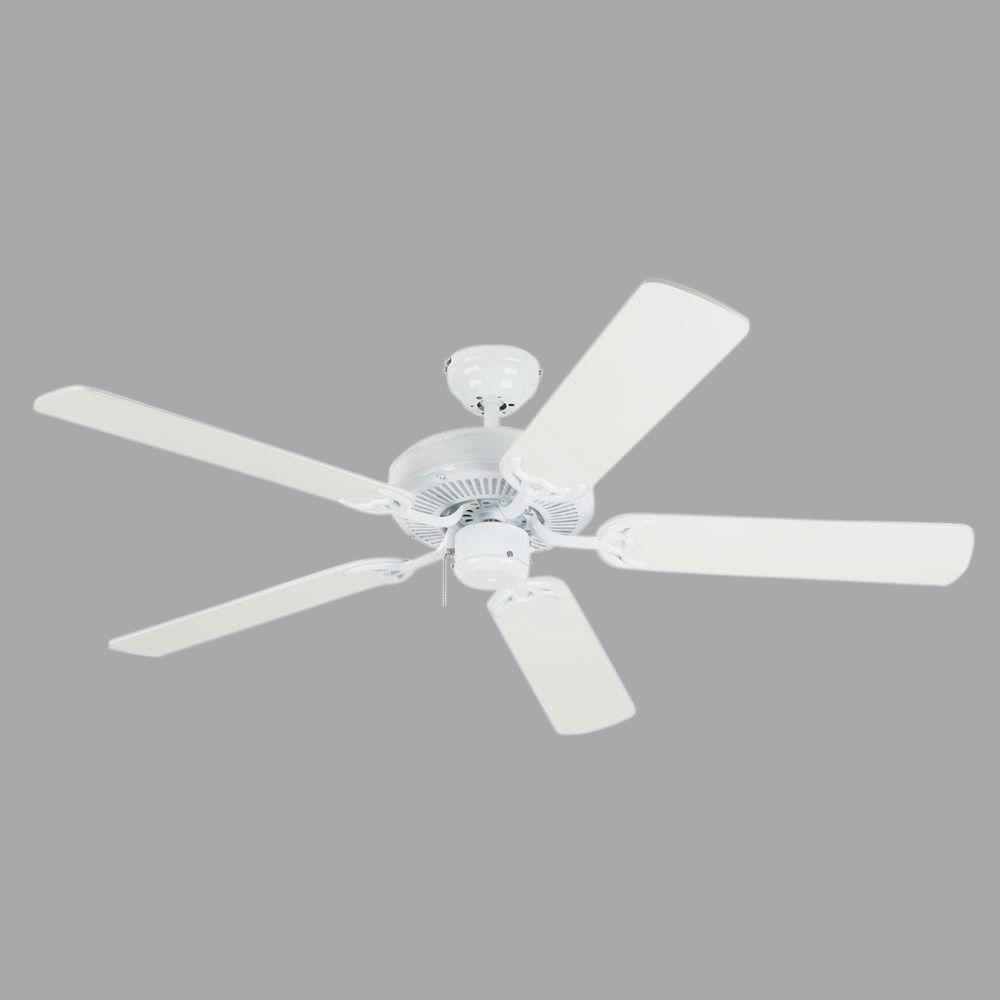 Westinghouse Contractor's Choice 52 in. White Indoor Ceiling Fan