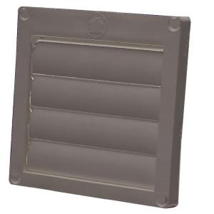 Speedi Products 4 In Louvered Plastic Flush Exhaust Hood