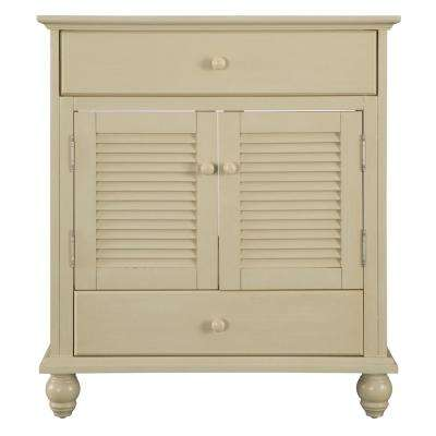 Cottage 30 in. W x 21.63 in. D Vanity Cabinet Only in Harbor Blue