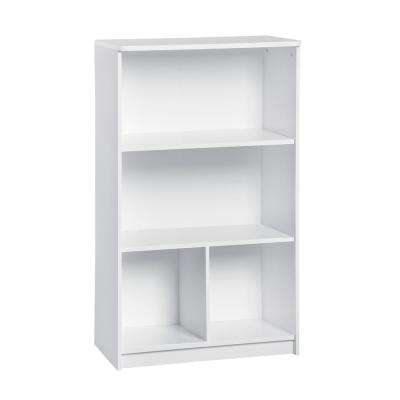 KidSpace 24 in. W x 41 in. H White 2-Cube 2-Shelf Storage Organizer