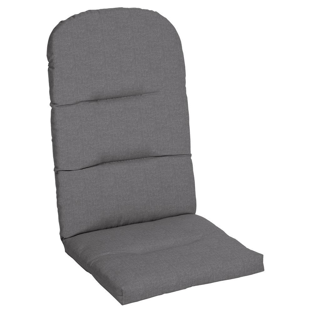 Sunbrella Cast Slate Outdoor Adirondack Chair Cushion