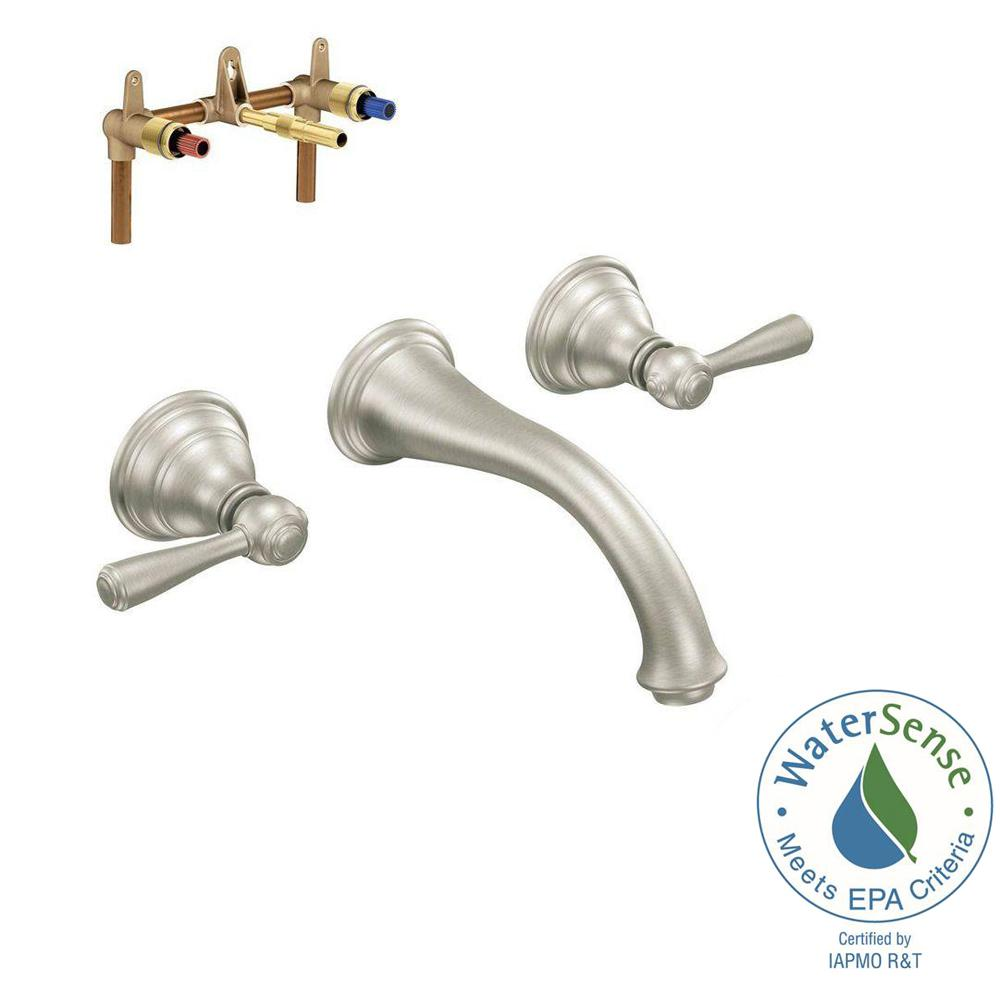 Moen Shower Handle Ideas For Traditional Bathroom With