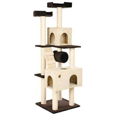 Beige/Brown Mariela Cat Playground