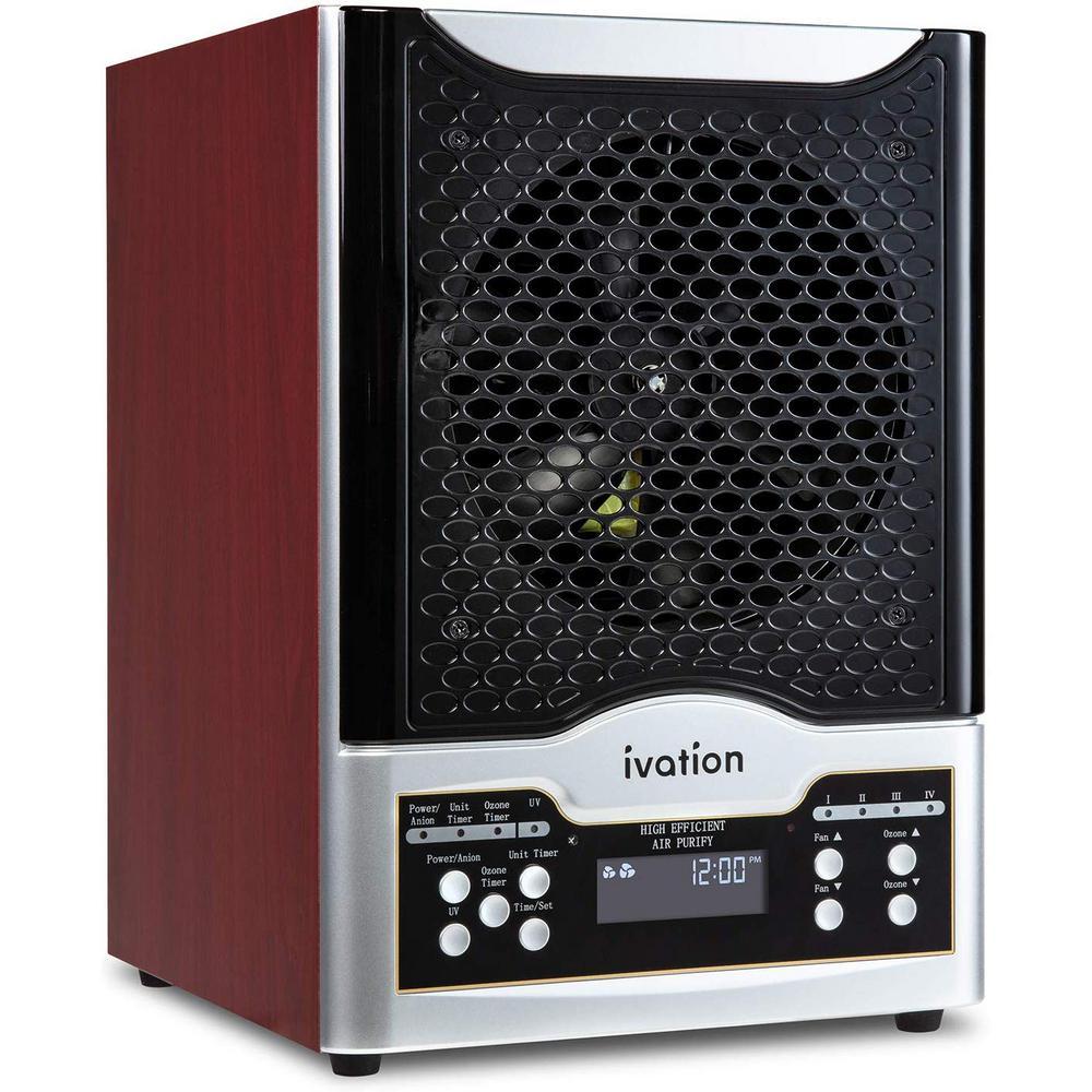 Ozone Generator Air Purifier with Digital Display