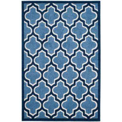Blue 3 X 5 Outdoor Rugs Rugs The Home Depot