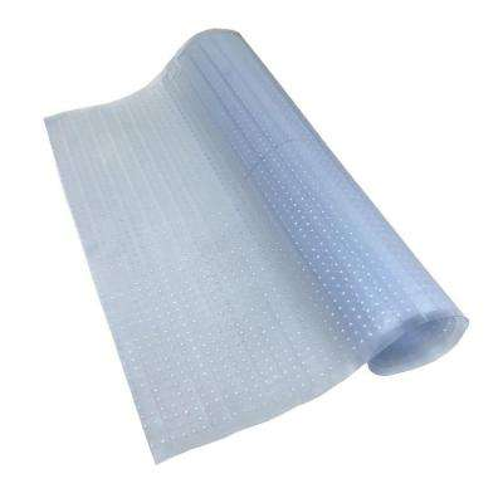 Clear 2 ft. 2 in. x 12 ft. Vinyl Carpet Protector Runner Mat