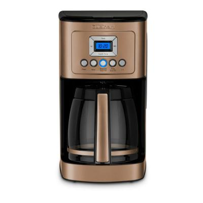 PerfecTemp 14-Cup Copper Stainless Steel Drip Coffee Maker