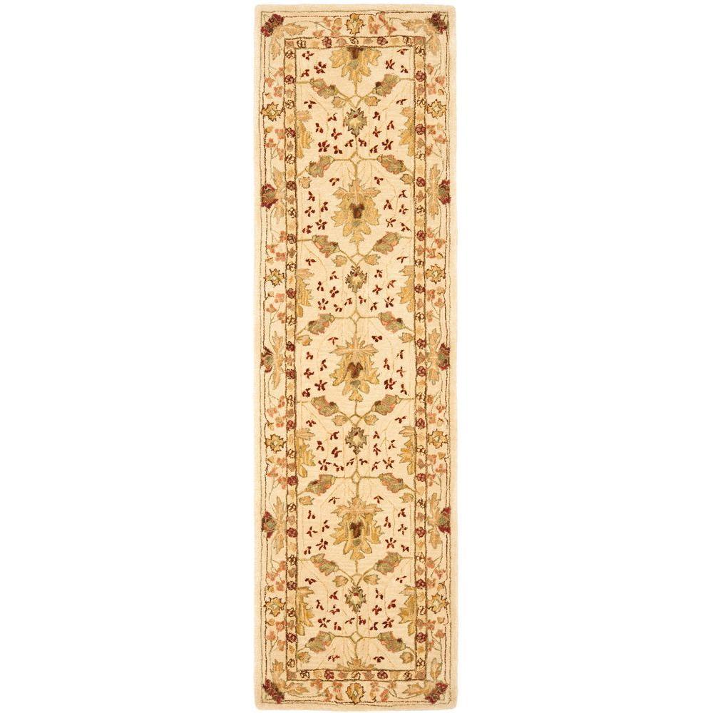 Anatolia Ivory 2 ft. 3 in. x 12 ft. Rug Runner
