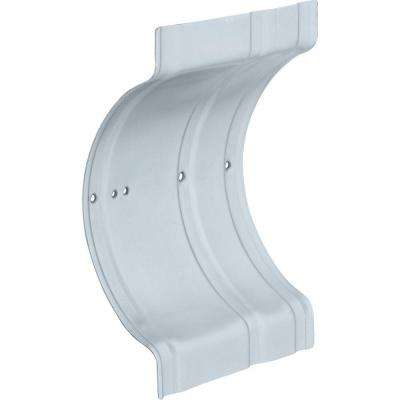 Recessed Wall Clamp Zinc Plated