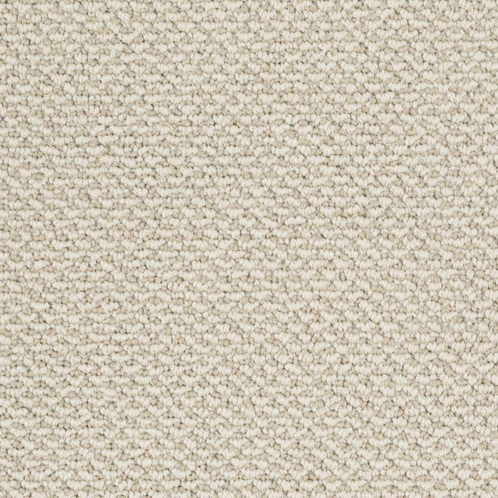Martha Stewart Living Whitford Bay - Color Snail Shell 6 in. x 9 in. Take Home Carpet Sample
