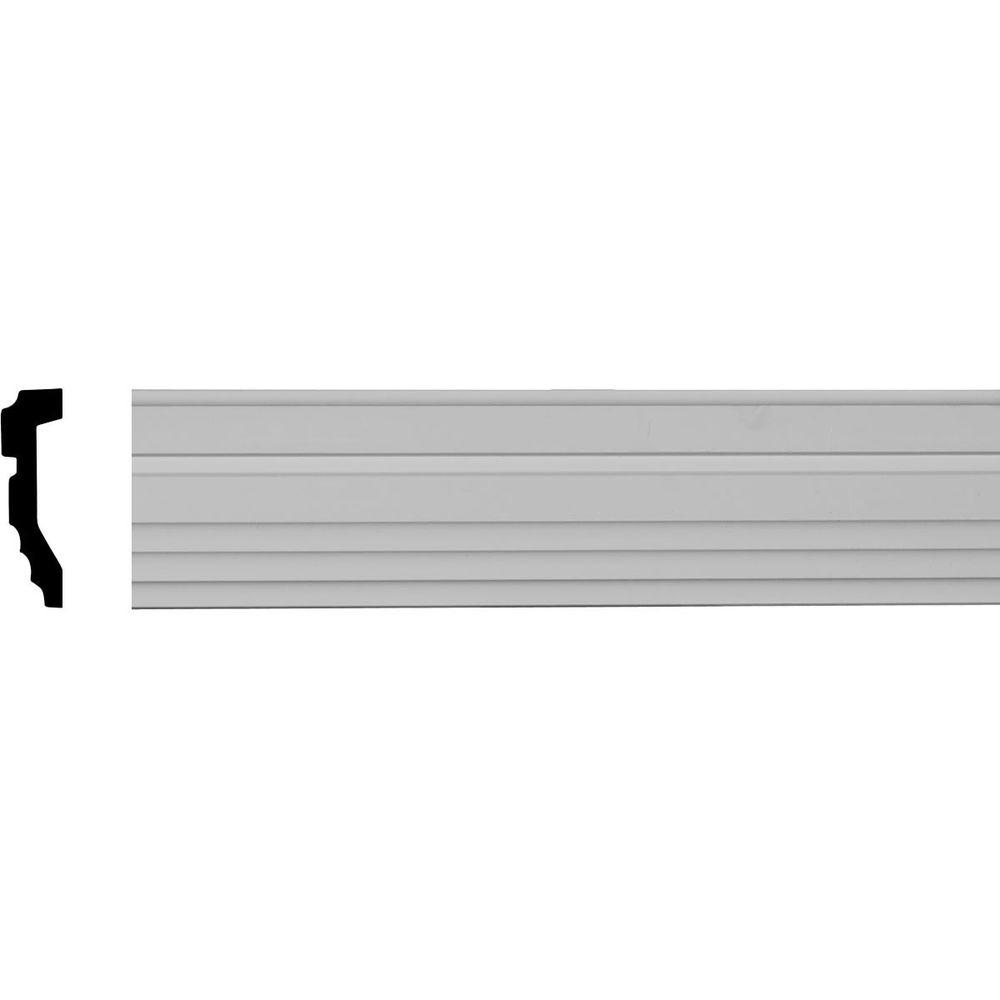 1-1/8 in. x 3-1/2 in. x 96 in. Polyurethane Devon Casing