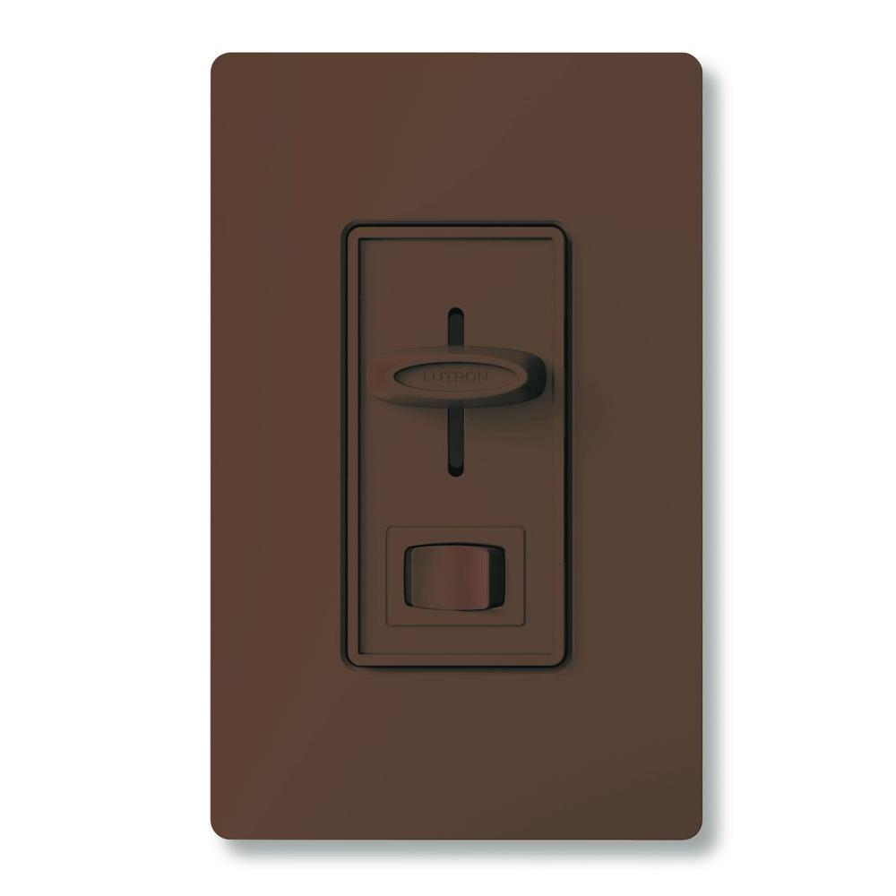 brown lutron dimmers s 600p br 64_1000 lutron skylark 600 watt single pole preset dimmer brown s 600p lutron sf-10p wiring diagram at fashall.co
