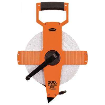 200 ft. Open Reel Fiberglass Tape - Engineer's