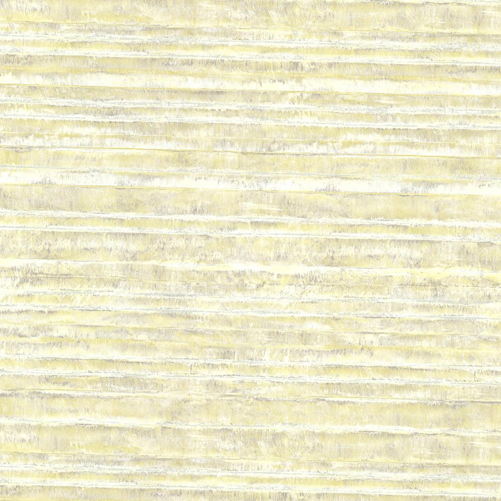 Yellow Horizon Stripe Texture Wallpaper