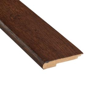 Distressed Archwood Hickory 3/8 in. Thick x 3-1/2 in. Wide x 78 in. Length Stair Nose Molding